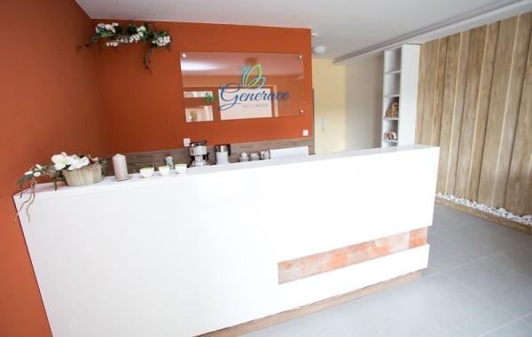 Interiér wellness centra