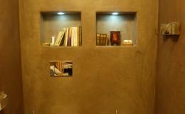 15_toaleta-záchod , stěny řešeny v marockém štuku