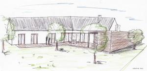 01_kocepční skica roddinného domu