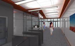 04_moderní design vstupní haly, designová svítidla