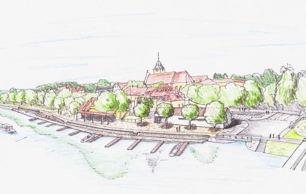 Obnova nábřeží řeky Vltavy